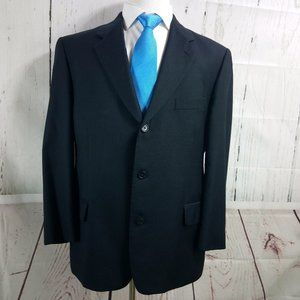 Rossetti Super 120's Blue Suit Blazer Sport Coat